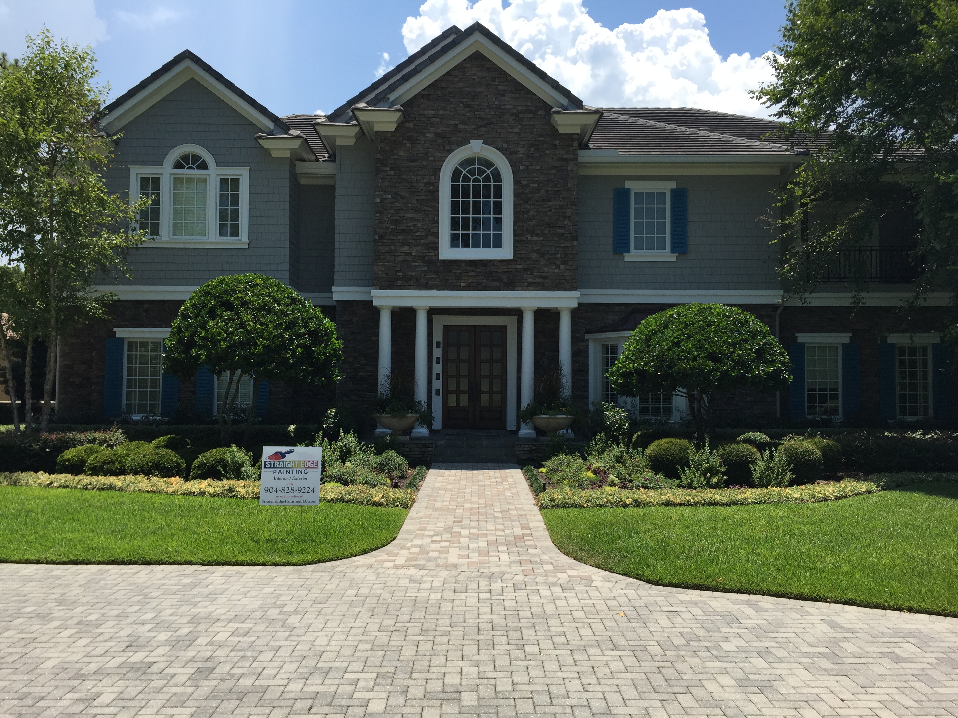 Top Quality Exterior Painting Services Straight Edge