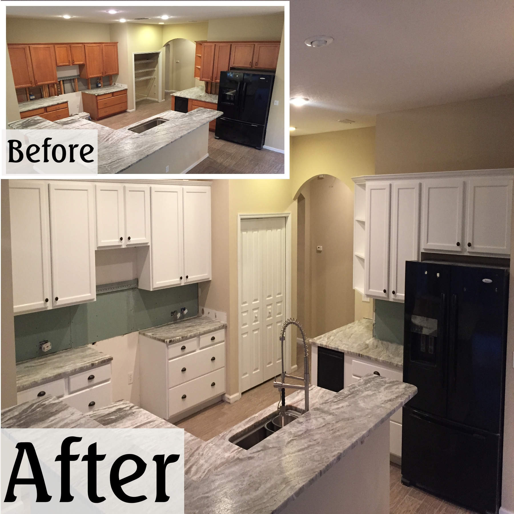 The professional 39 s guides and tips to cabinet painting for Kitchen cabinets jacksonville fl
